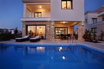 3 bedroom beach villa with private pool.